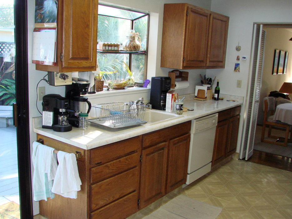 Galley kitchen remodels before and after galley kitchen for Galley kitchen makeovers before and after